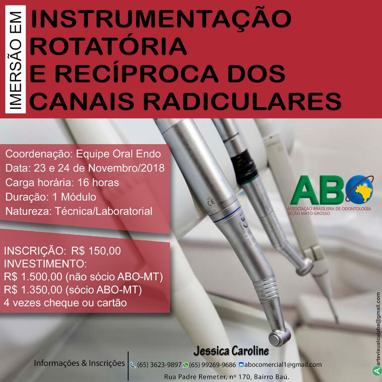 Instrumentação Rotatória e Recíproca dos Canais Radiculares