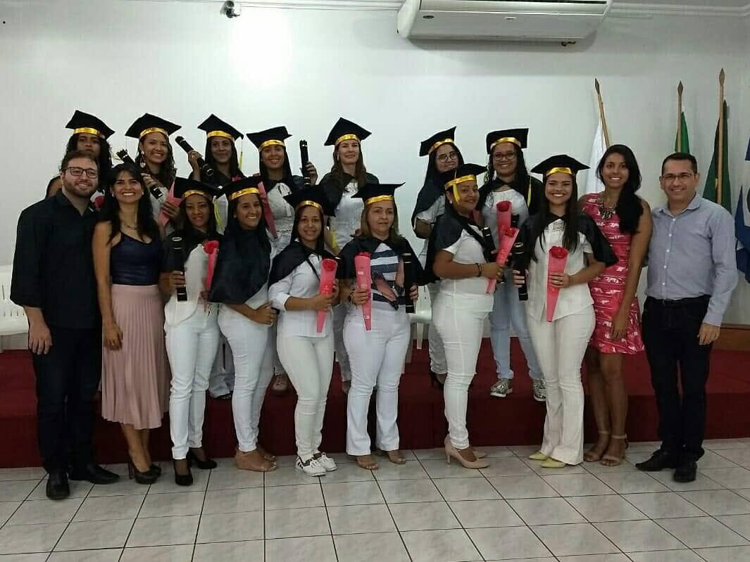 15ª Turma de Auxiliar em Saúde Bucal da ABO-MT Sede Cuiabá