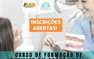 CURSO DE FORMAÇÃO DE AUXILIAR EM SAÚDE BUCAL
