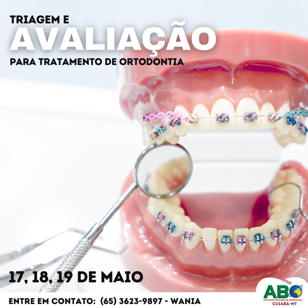 Triagem de Pacientes para Tratamento de Ortodontia na ABO-MT