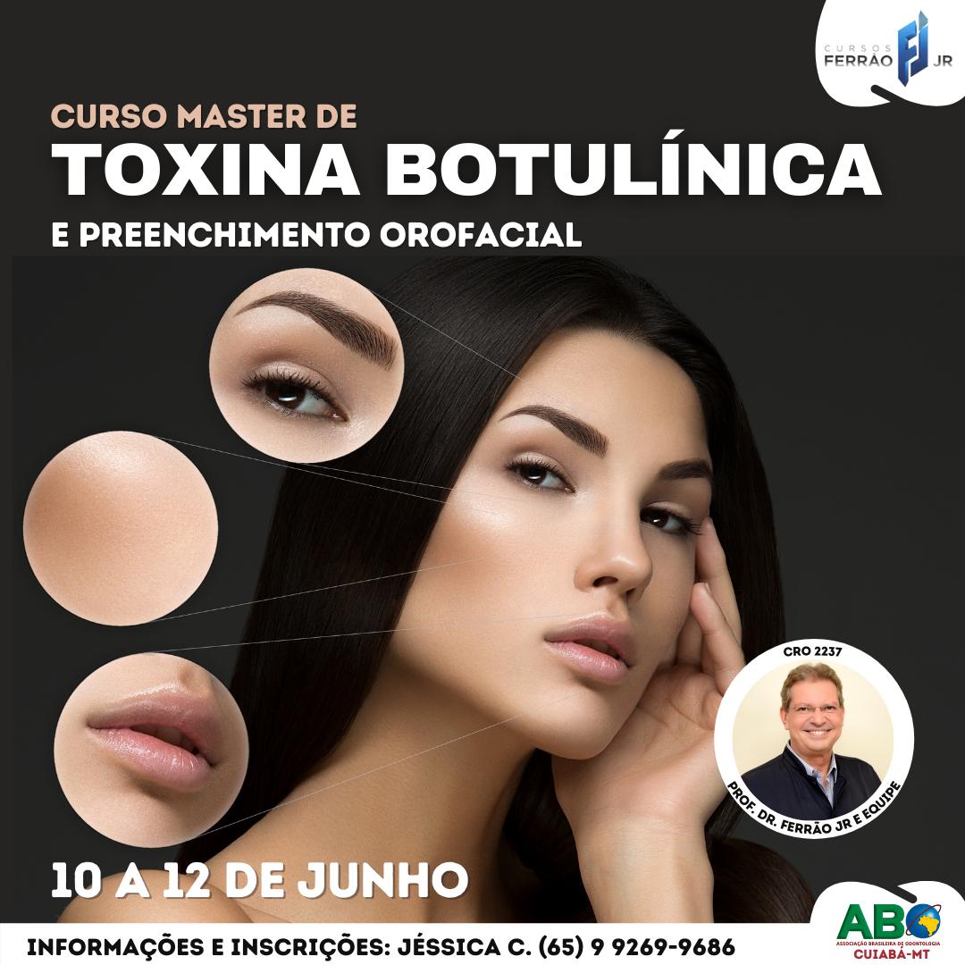Curso Master Toxina Botulínica e Preenchimento Facial