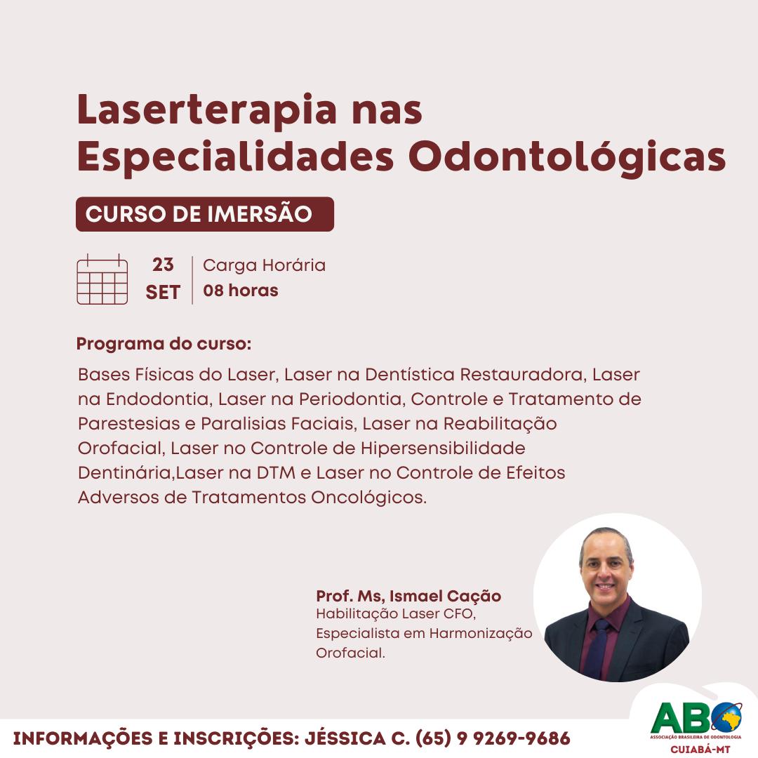 Laserterapia nas Especialidades Odontológicas