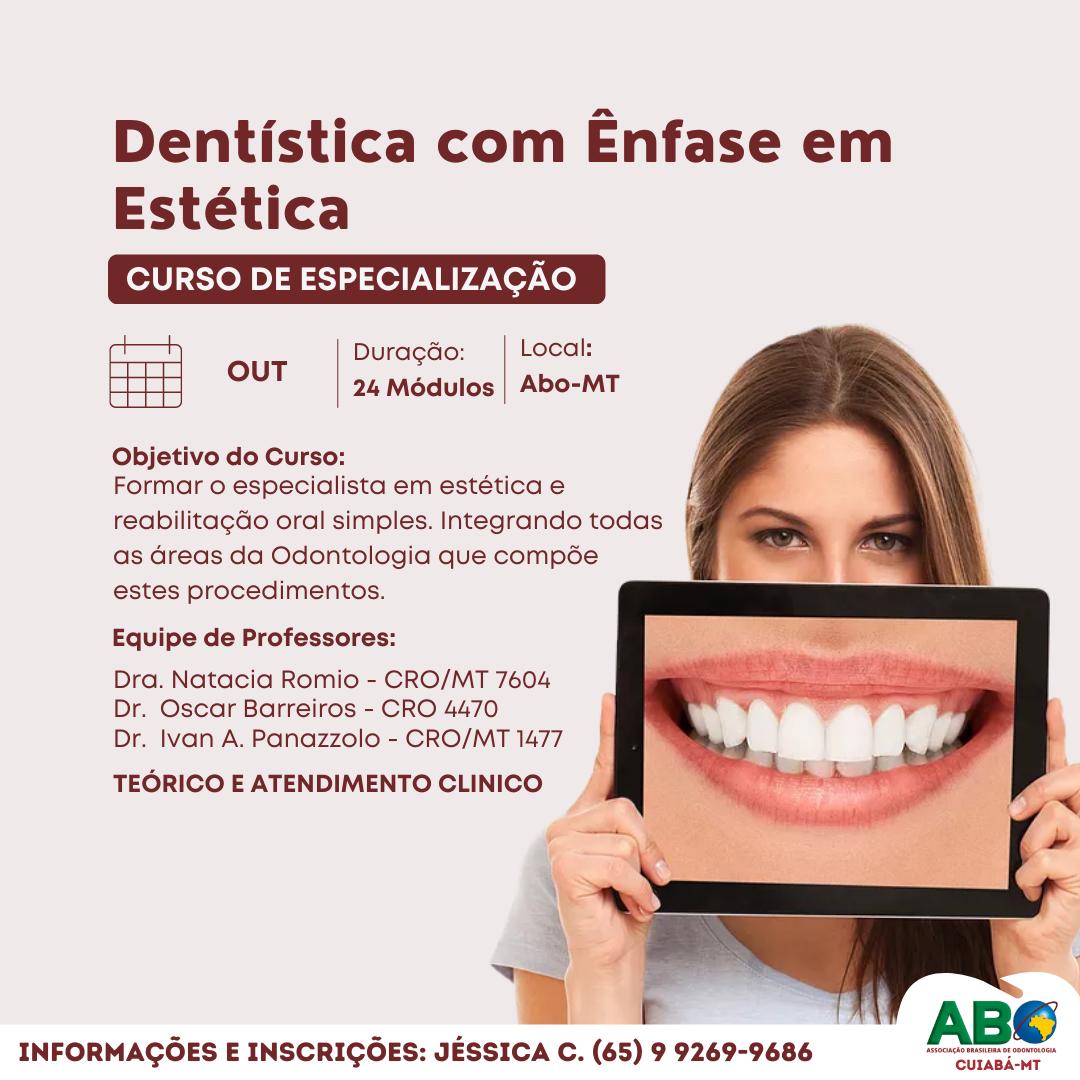 Dentística com Ênfase em Estética