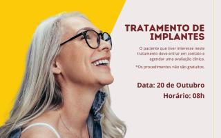 Tratamento de implantes